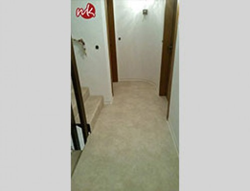 Bodenbelag im Treppenhaus