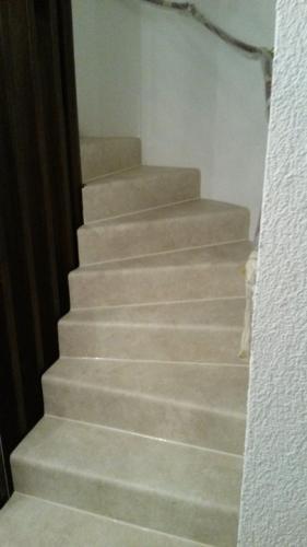 Fertige Treppenstufen