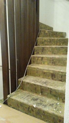 Stufen schleifen