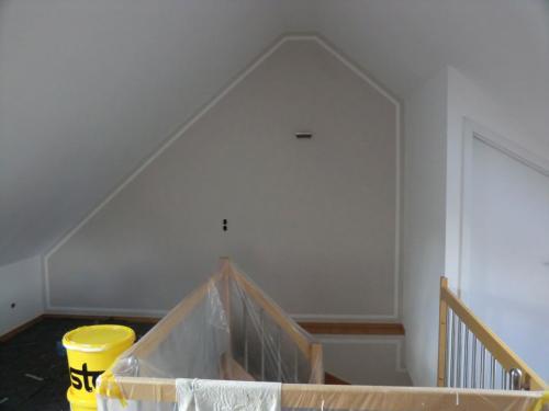 Fertiges Dachgeschoss