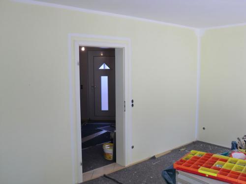 Fertiges Wohnzimmer