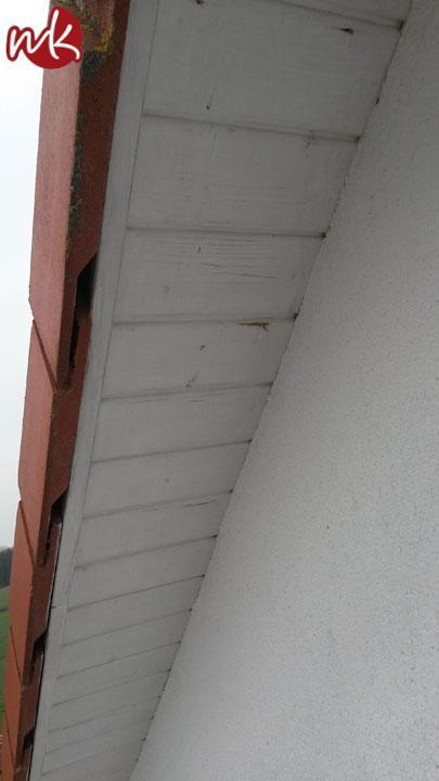 Turbo Fassade in Grau streichen - Malermeister Kölling OI86