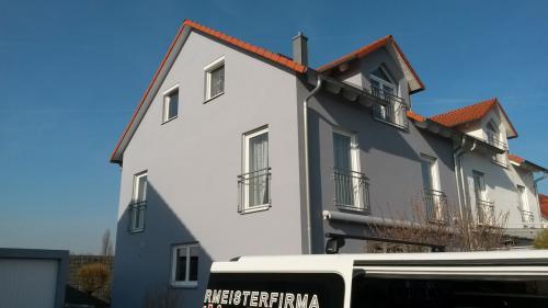 Fertige Fassade