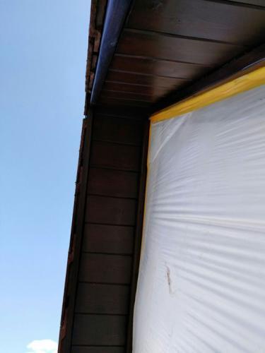 Fertige Dachuntersicht