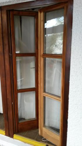 Fenster lasieren
