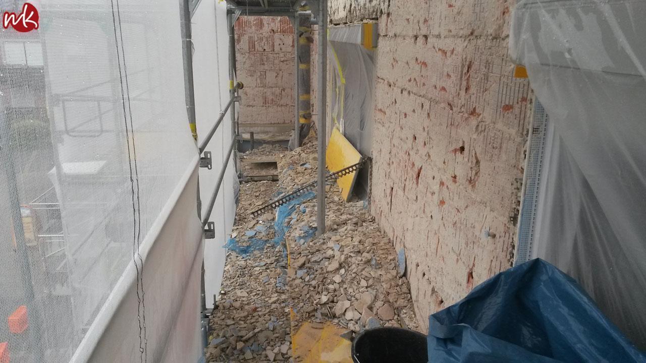 sanierung eines geschäftshauses - malermeister kölling