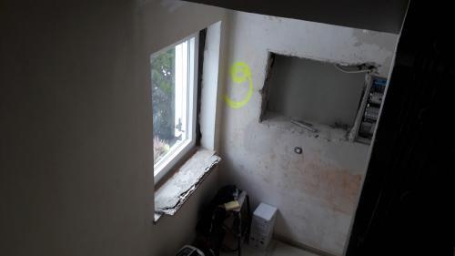 Wandflächen vorher
