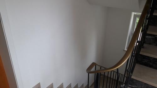 Fertige Wandflächen